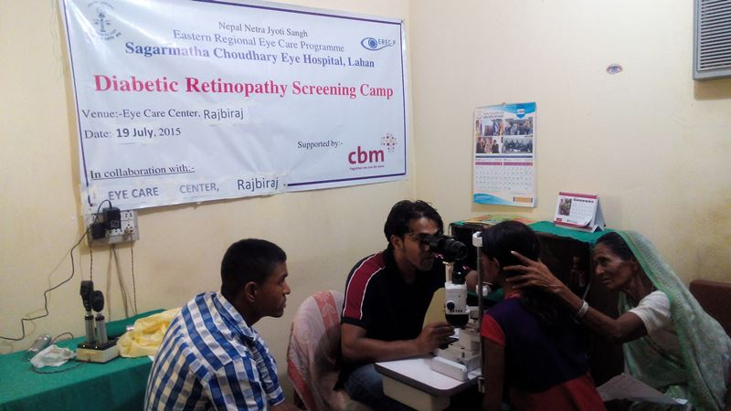 Diabetic Retinopathy Camp