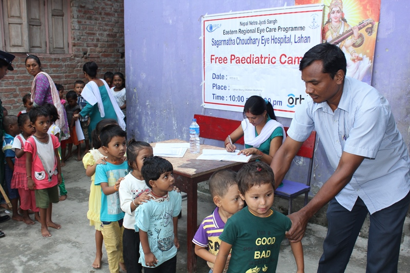 Pediatric Screening Camp