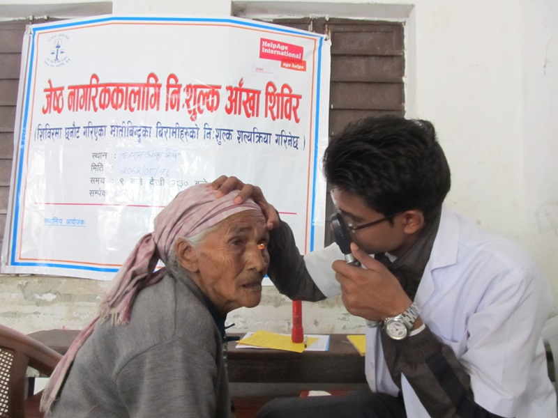 Senior Citizen Screening Camp