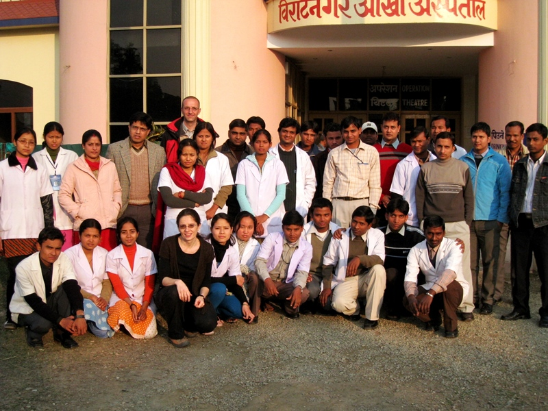 A Team Of Competent Staff At BEH February 2008